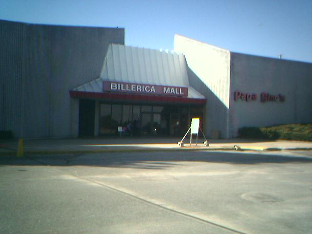 Billerica Mall Main Entrance